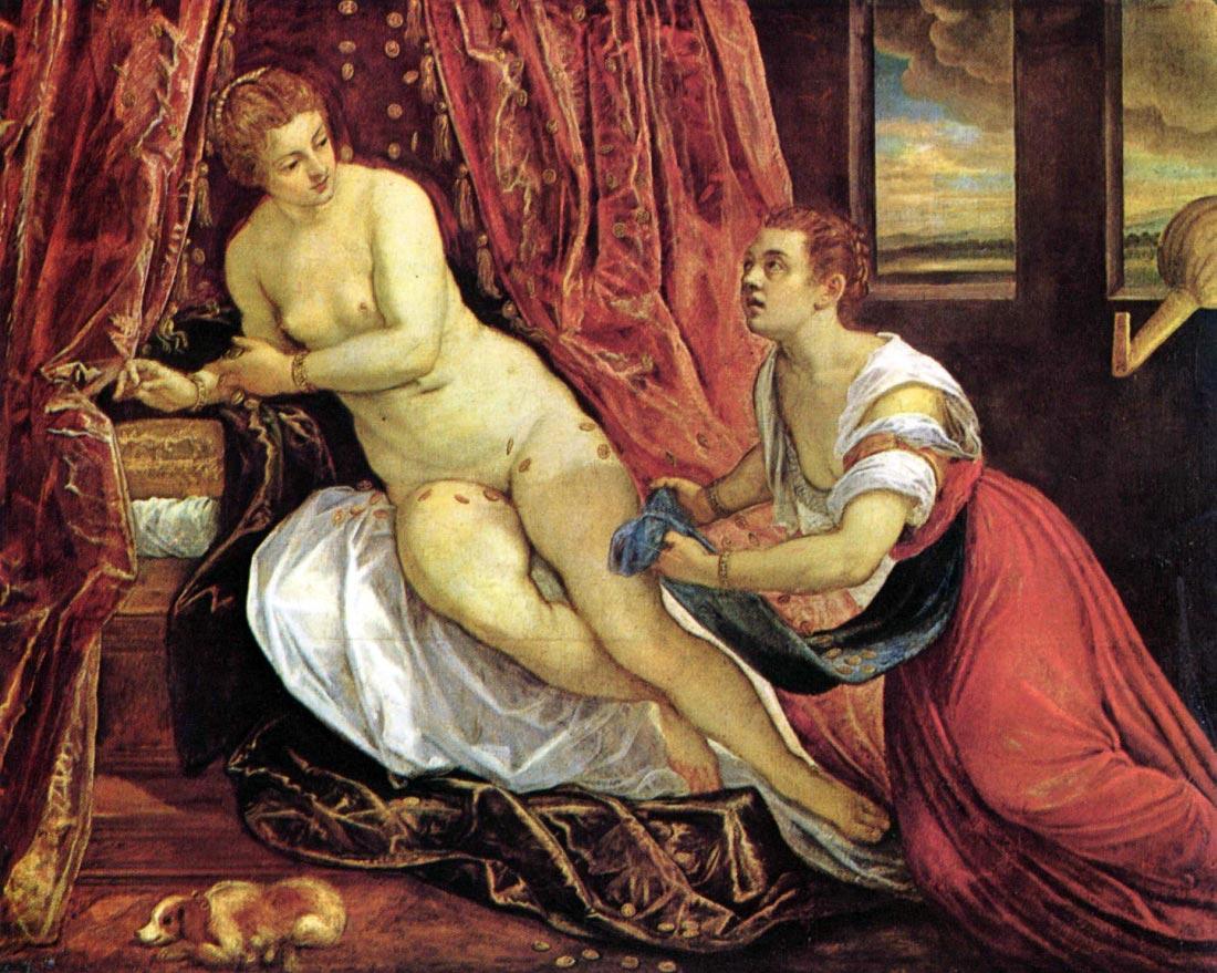 Danae - Tintoretto