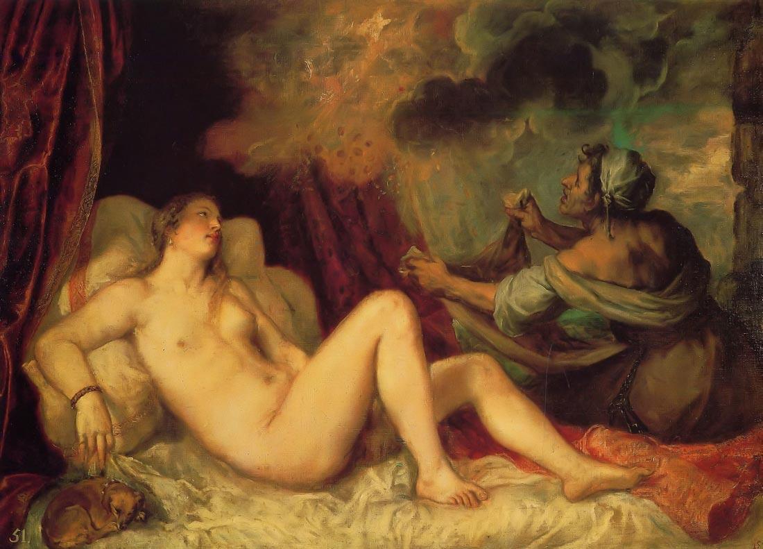 Danae - Titian