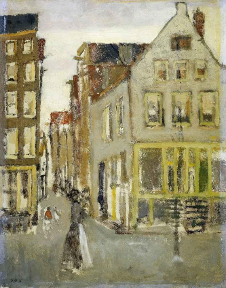 De Lauriergracht bij de Tweede Laurierdwarsstraat - George Hendrik Bre