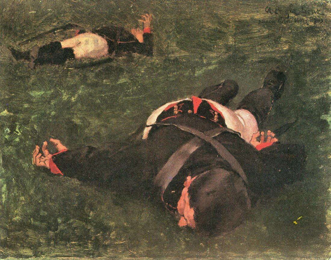 Dead Frenchmen - Albin Egger-Lienz