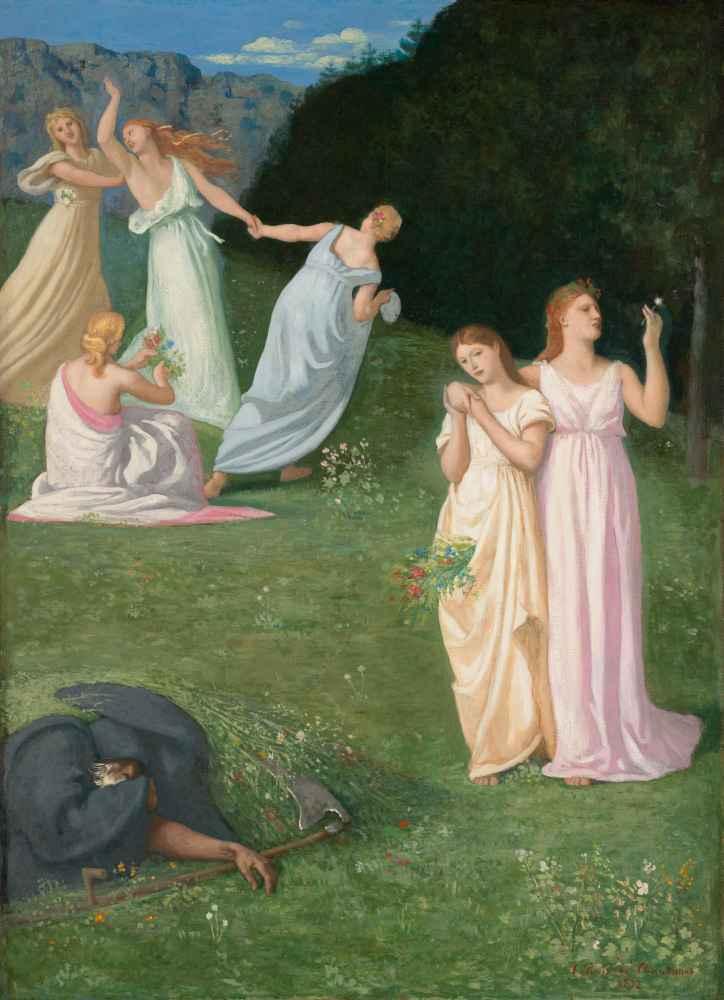 Death and the Maidens - Pierre Puvis de Chavannes