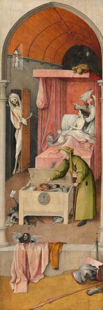 Death and the Miser - Hieronim Bosch
