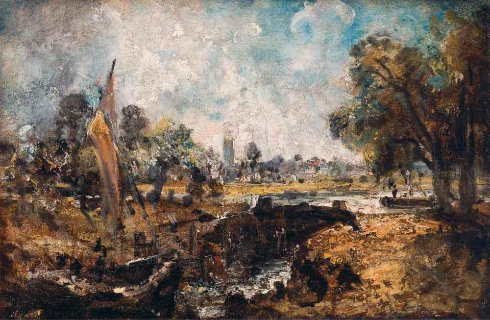 Dedham Lock 2 - John Constable