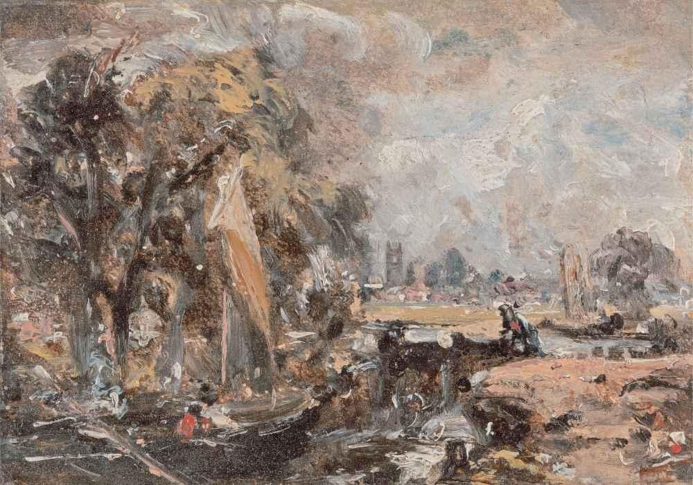 Dedham Lock - John Constable
