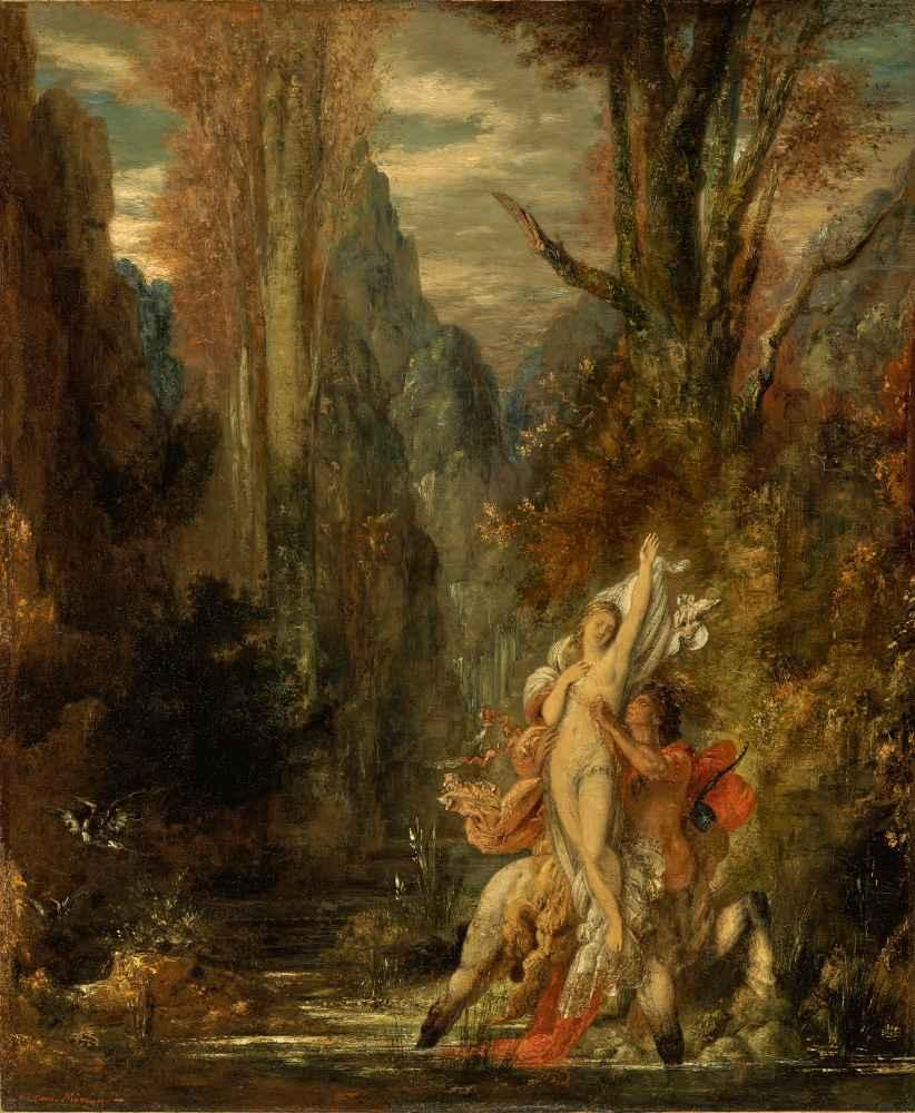 Dejanira (Autumn) - Gustave Moreau