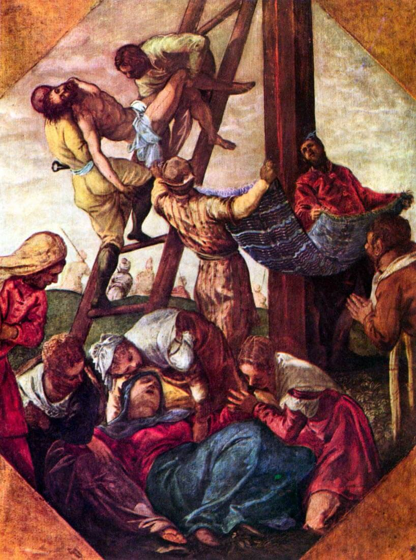 Descent from the Cross - Tintoretto