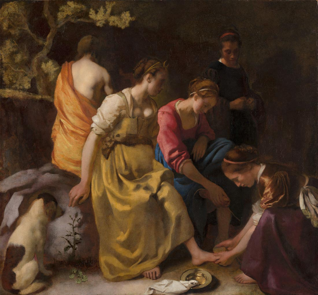 Diana and her nymphs - Vermeer