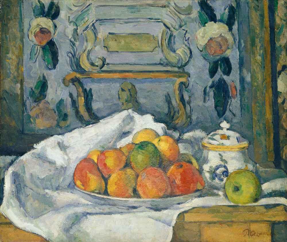 Dish of Apples - Paul Cezanne