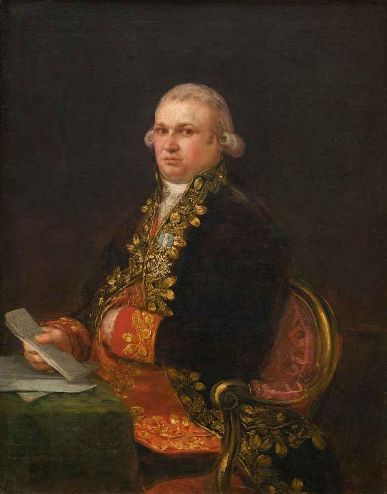 Don Antonio Noriega - Francisco Goya