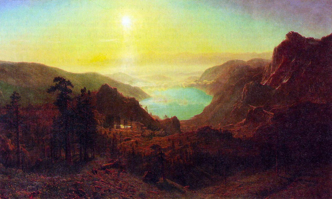 Donner Lake #2 - Bierstadt