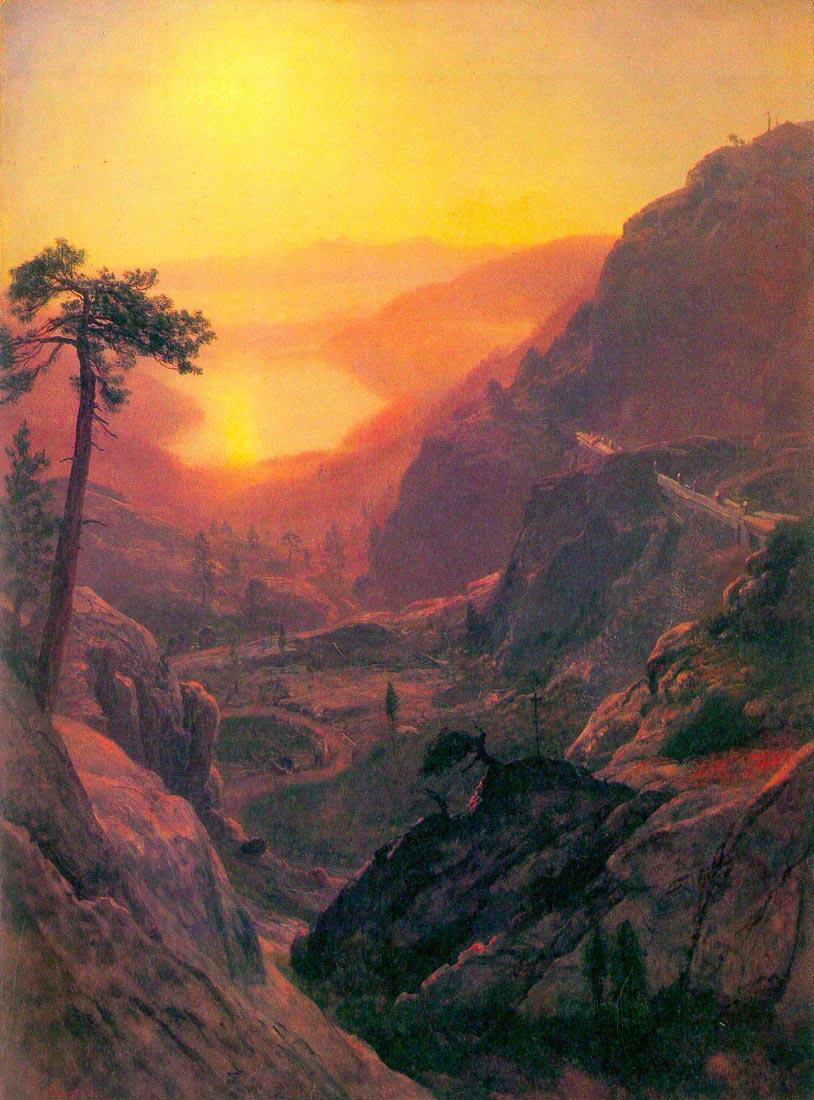 Donner Lake - Bierstadt