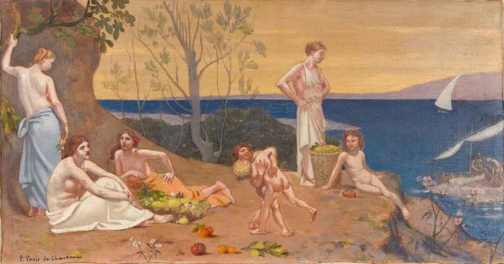 Doux Pays (Pleasant Land) - Pierre Puvis de Chavannes
