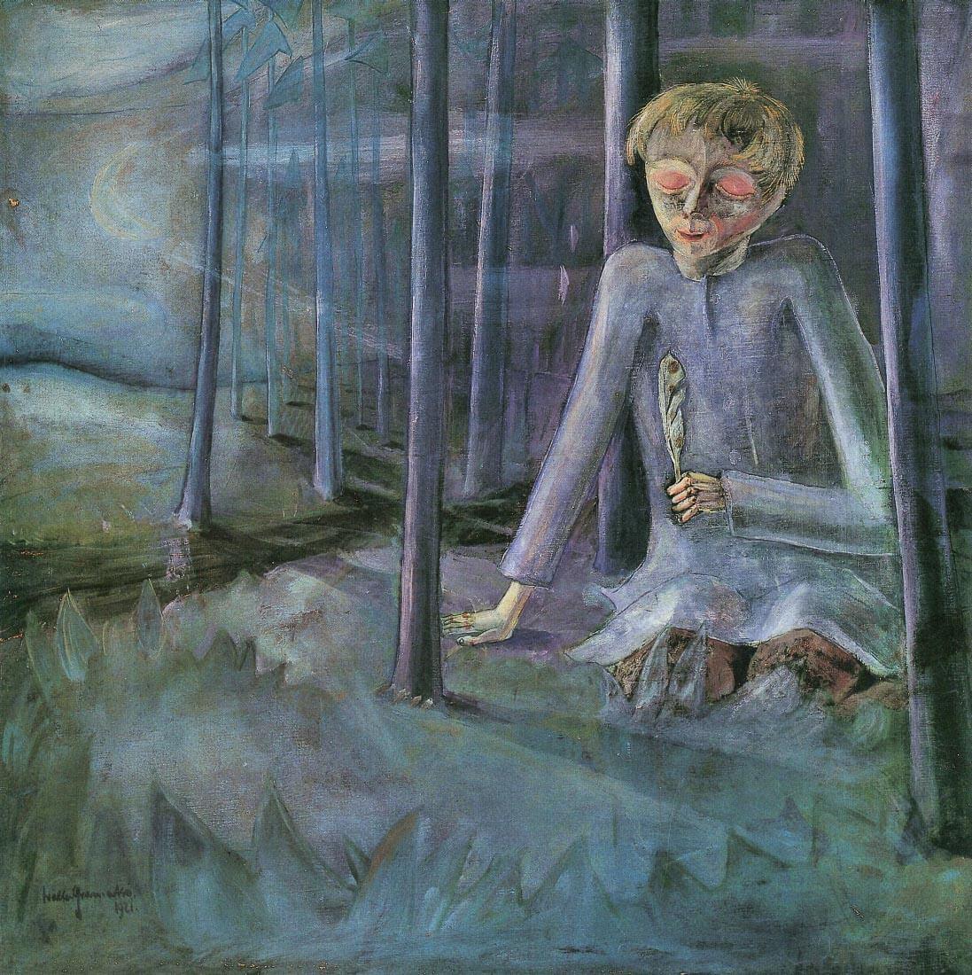 Dreaming boy - Walter Gramatte