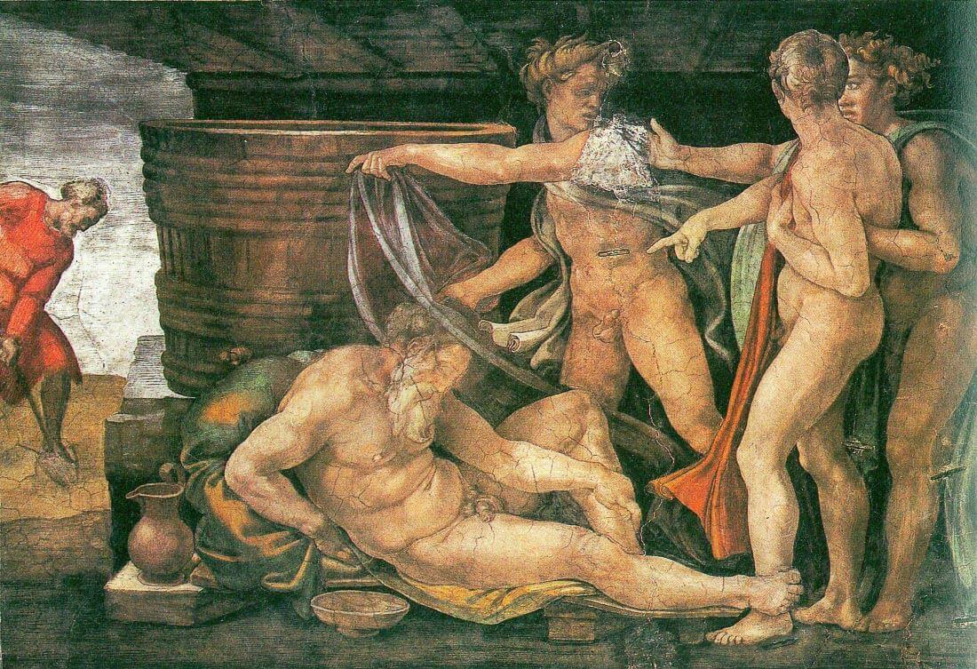 Drunken Noah - Michelangelo