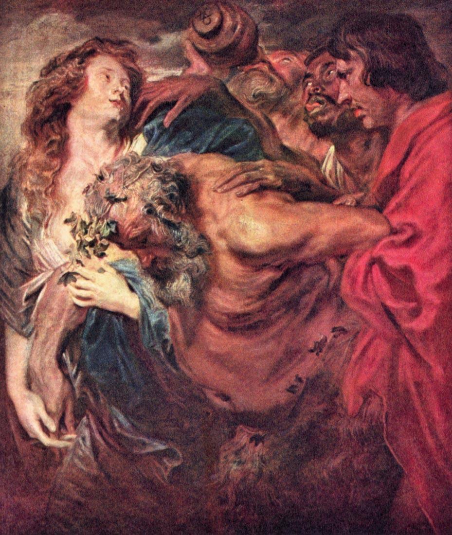 Drunken Silenus - Van Dyck