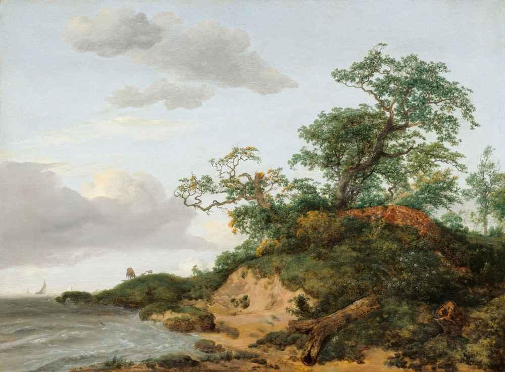 Dunes by the Sea - Jacob van Ruisdael