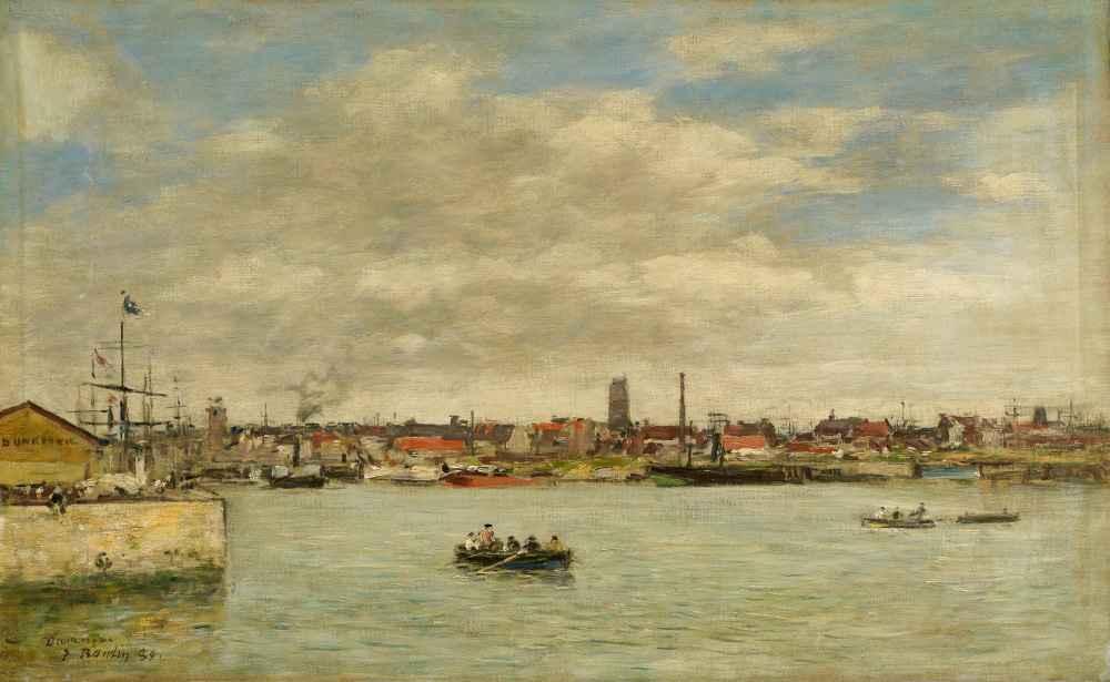 Dunkerque - Eugene Boudin