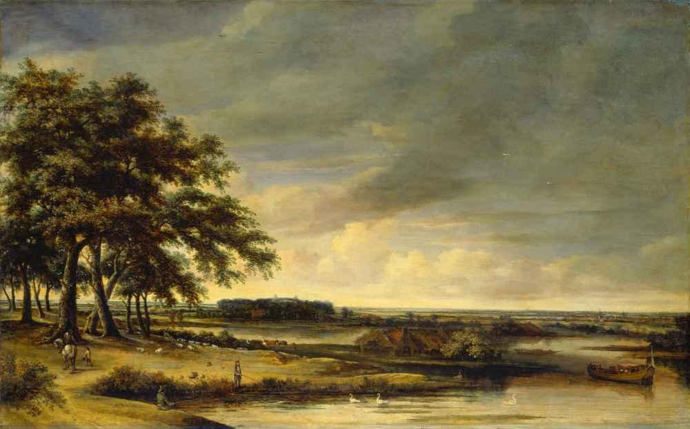 Dutch Landscape - Philips Koninck