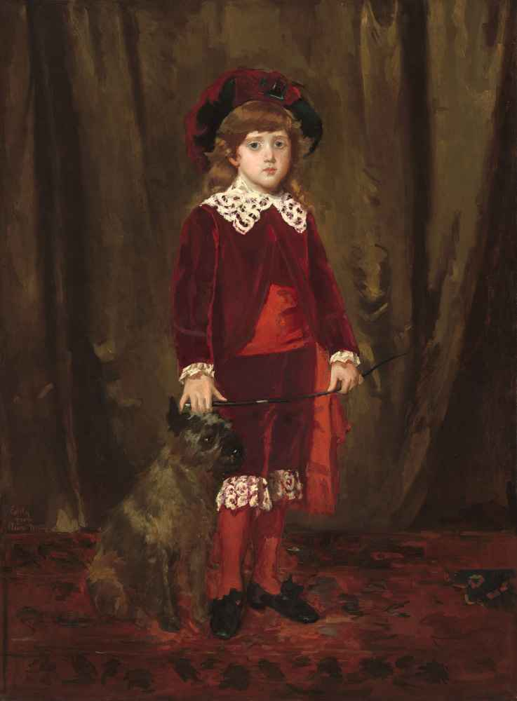 Eddy Cassatt (Edward Buchanan Cassatt) - Mary Cassatt