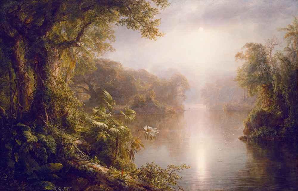 El Rio de Luz (The River of Light) - Frederic Edwin Church