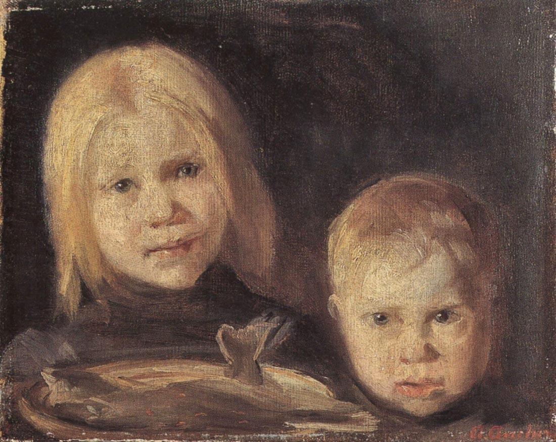 Elise und Soren - Anna Ancher