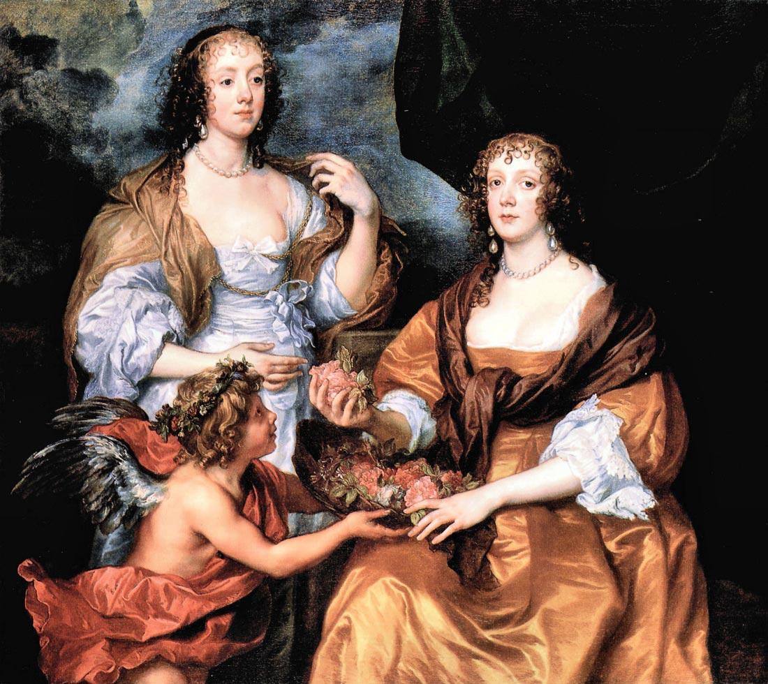 Elizabeth Thimbleby and Dorothy Viscountess Andover - Van Dyck
