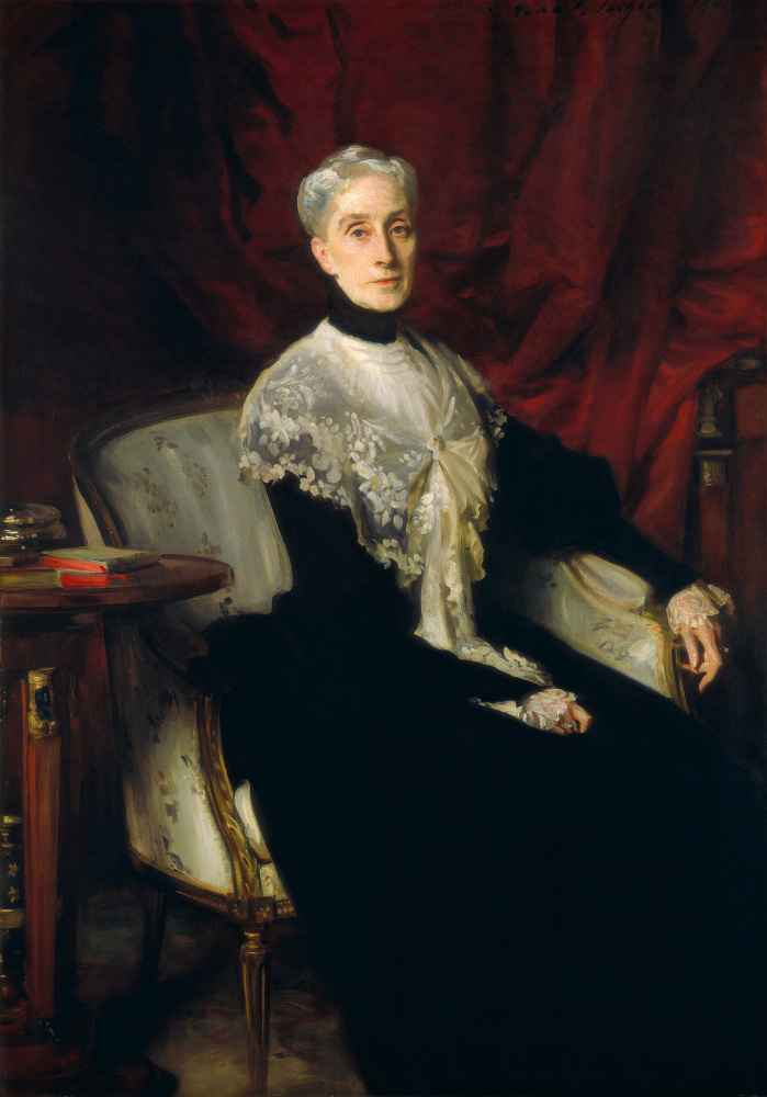 Ellen Peabody Endicott (Mrs. William Crowninshield Endicott) - John Si