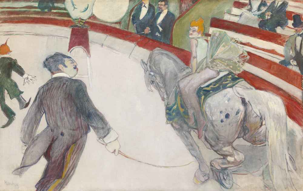 Equestrienne (At the Cirque Fernando) - Henri de Toulouse-Lautrec
