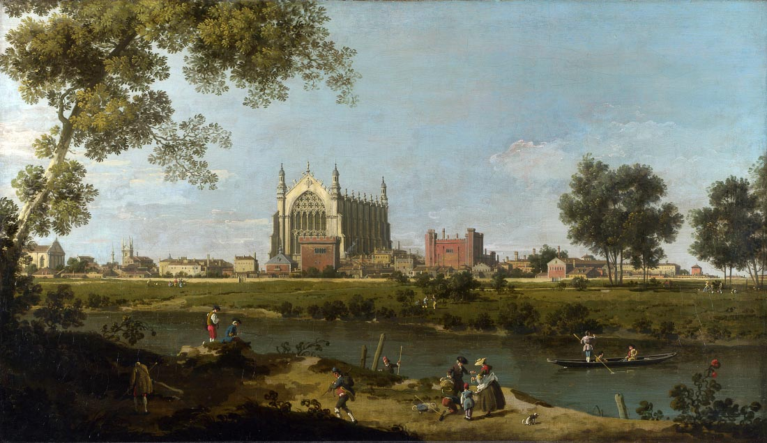 Eton College - Canaletto