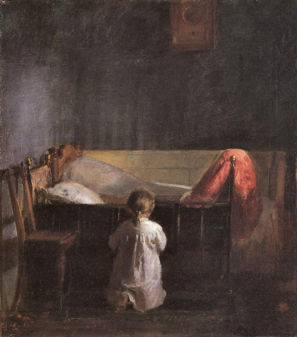 Evening Prayer - Anna Ancher