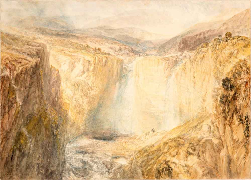 Fall of the Tees, Yorkshire - Joseph Mallord William Turner