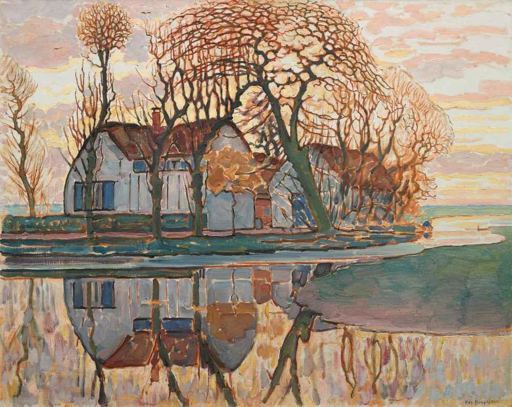 Farm near Duivendrecht - Piet Mondrian
