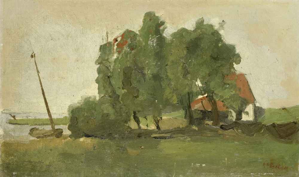Farmstead - George Hendrik Breitner