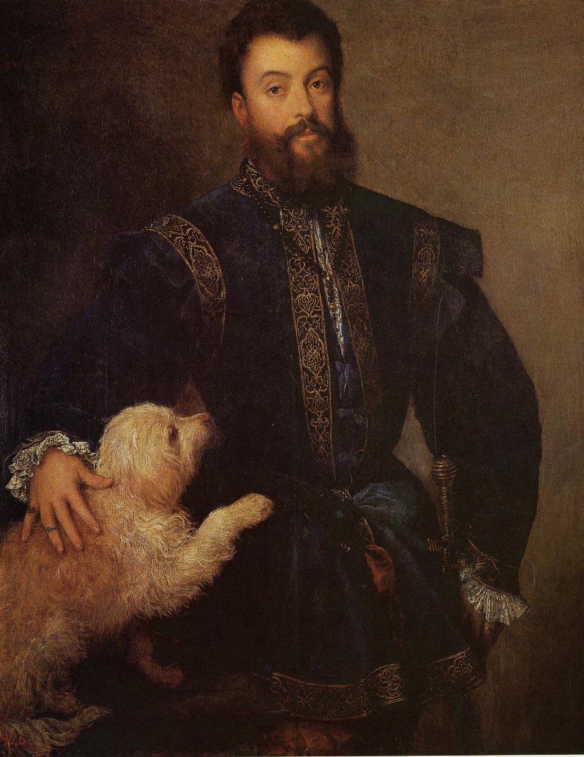 Federigo Gonzaga II - Titian