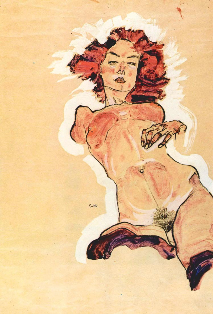 Female Act - Schiele