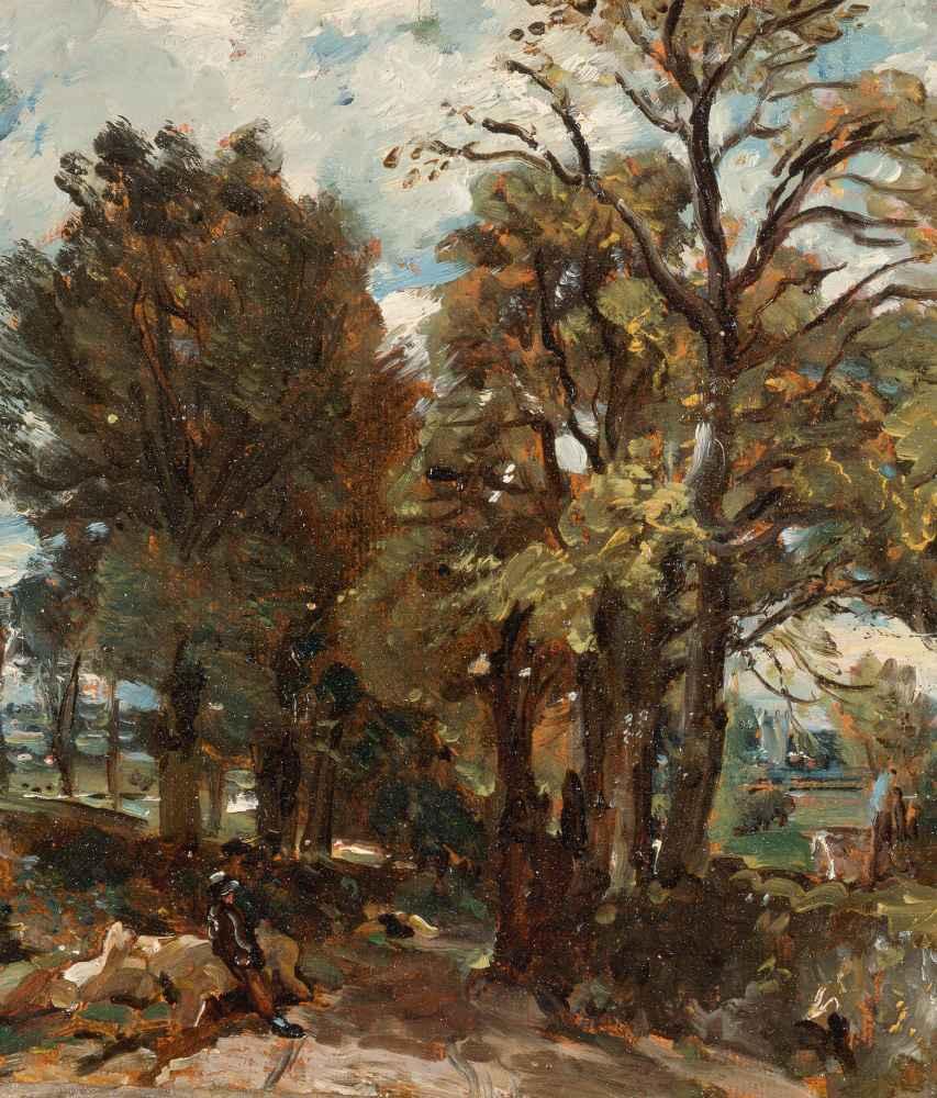 Fen Lane, East Bergholt - John Constable