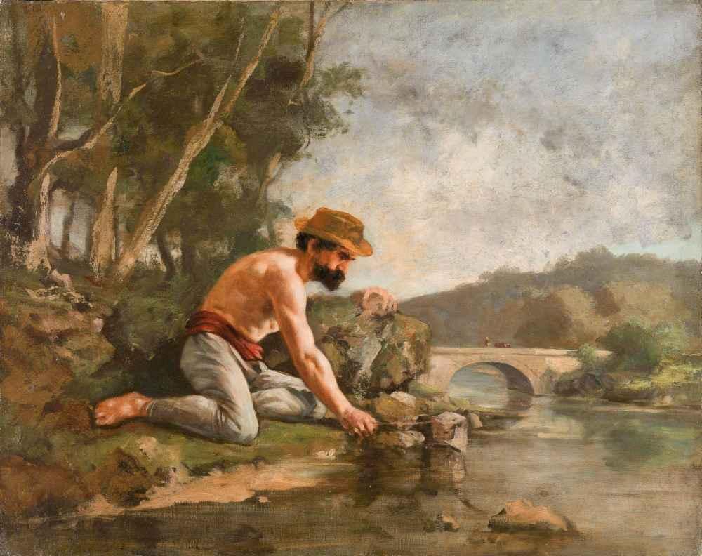 Fishmen - Gustave Courbet