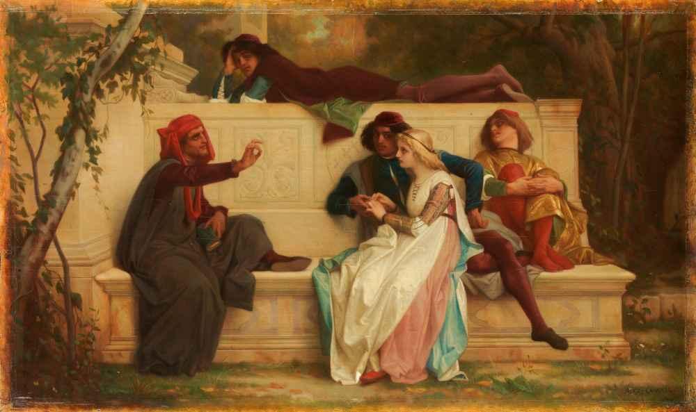 Florentine Poet - Alexandre Cabanel