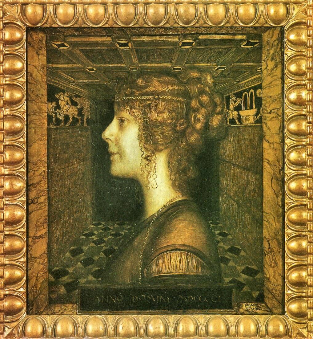 Florentine - Franz von Stuck