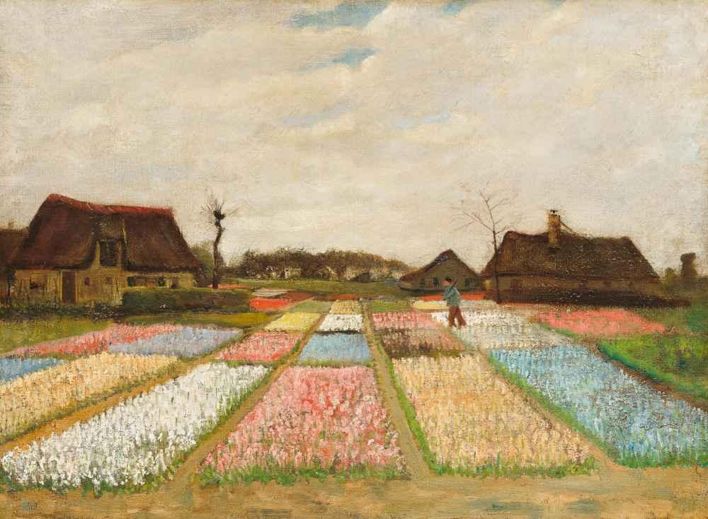 Flower Beds in Holland - Vincent van Gogh
