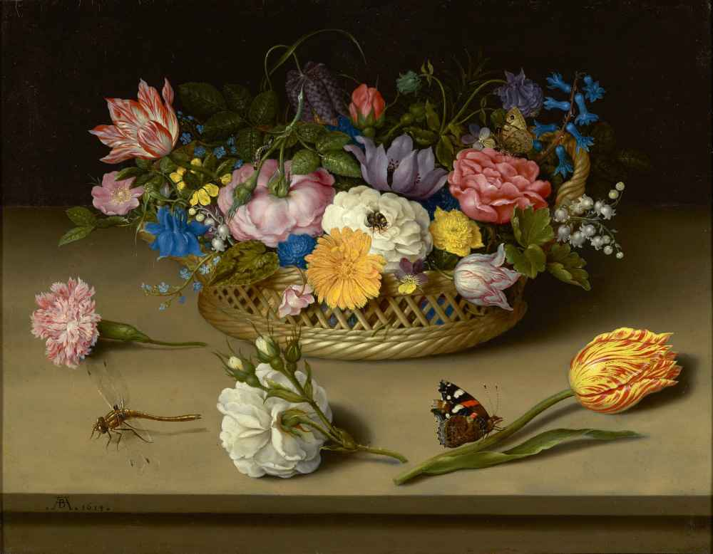 Flower Still Life - Ambrosius Bosschaert