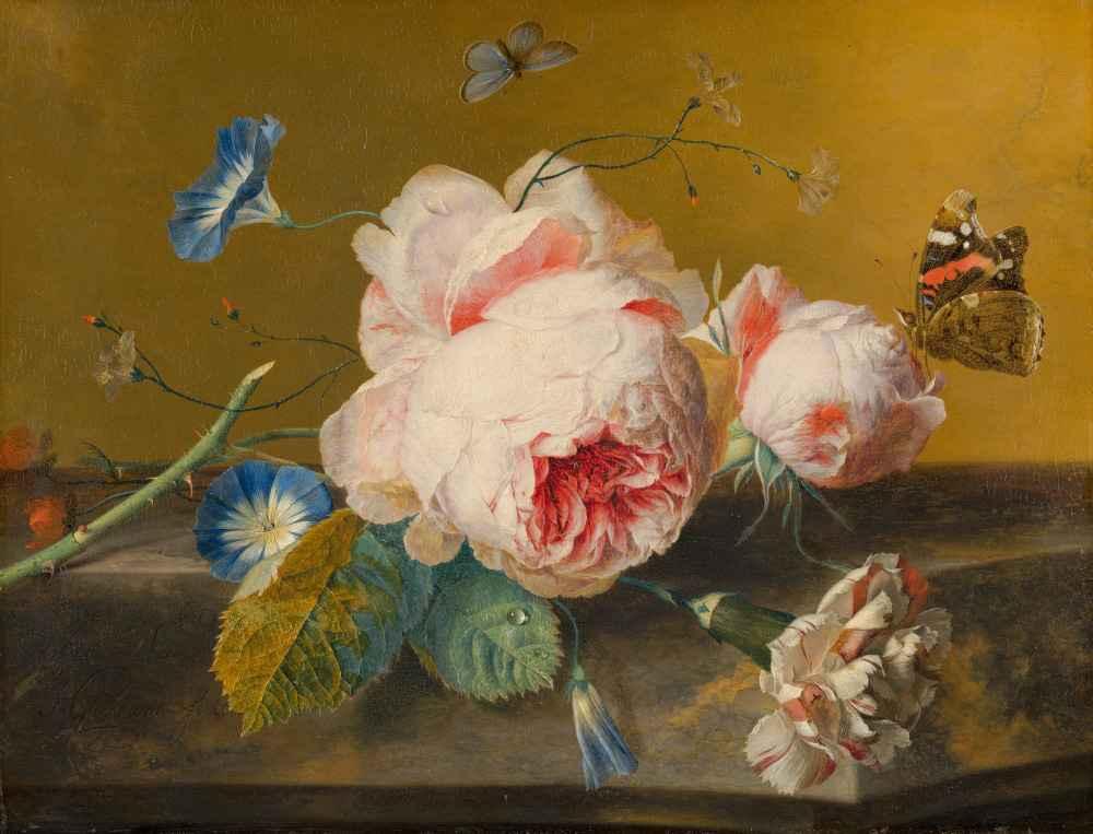 Flower Still Life - Jan van Huysum