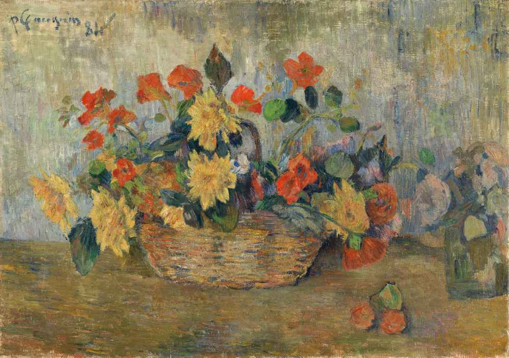 Flower basket - Paul Gauguin