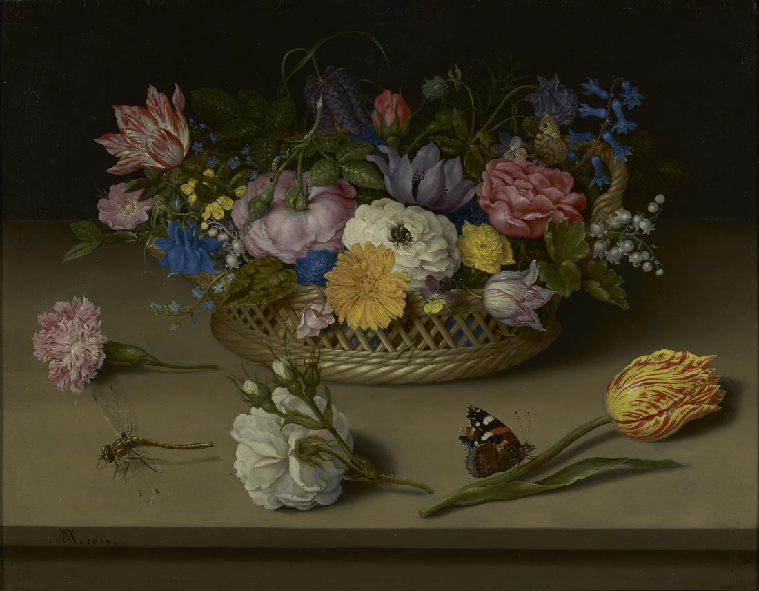 Flower still live - Ambrosius Bosschaert
