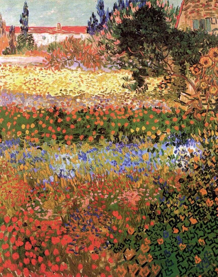 Flowering Garden - Van Gogh