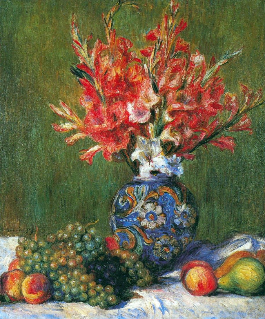 Flowers and Fruit - Renoir