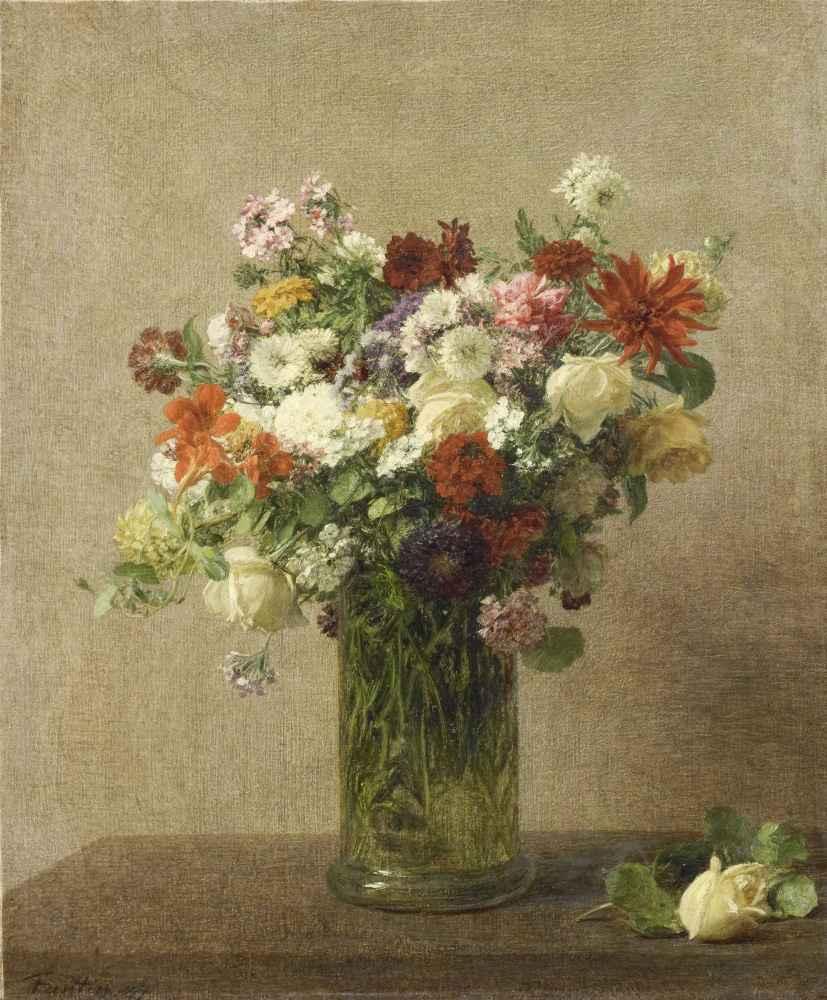 Flowers from Normandy - Henri Fantin-Latour