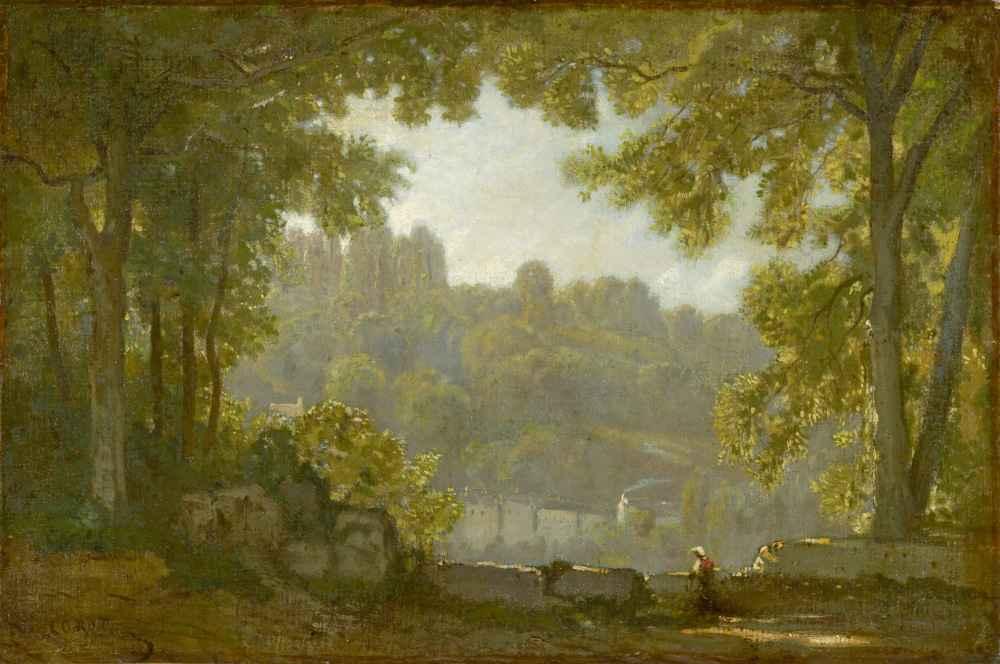 Forest Landscape - Jean Baptiste Camille Corot