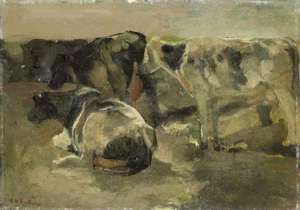 Four Cows - George Hendrik Breitner
