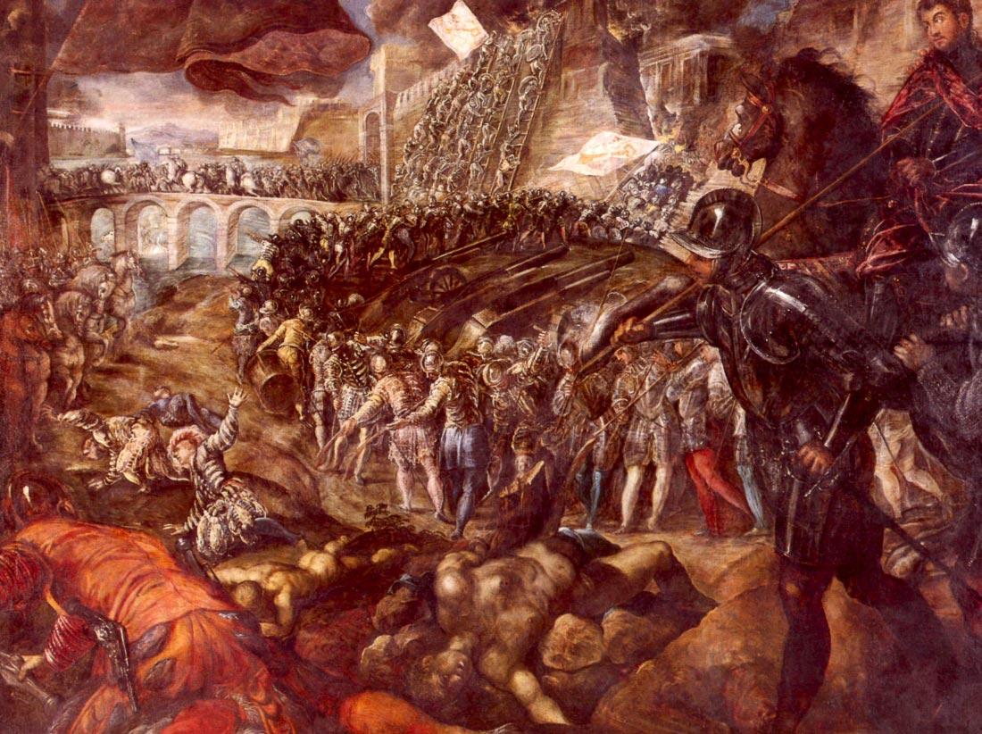 Frerico II Gonzaga conquered Parma - Tintoretto
